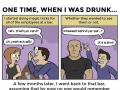 True drunk stories