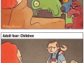 Childhood vs adult fears