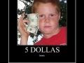 5 dollars..