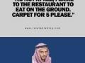 Table Sir?