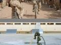 Soldiers messing around