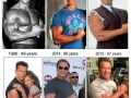Arnie over the years