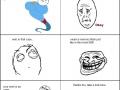 How to troll a Genie