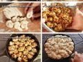 Pepperoni garlic knots