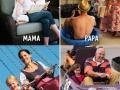 Mama vs Papa