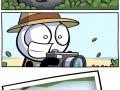 Shooting a lion