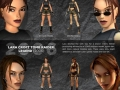 Many faces of Lara Croft