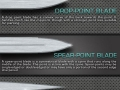 Guide to knife blades