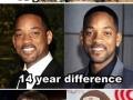 Celeb ageing process