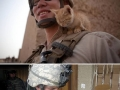 Soldiers & cats