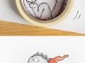 Cartoon dragon