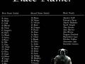 Skyrim name generator