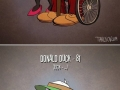 Actual ages of cartoons