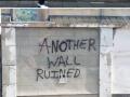 Funny street graffiti
