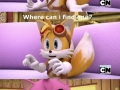 Tails has no chill..