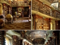 Beautiful library, Prague