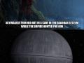 Death Star an inside job?