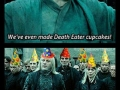 Death Eater cuppycakes!
