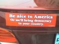 Sure.. democracy