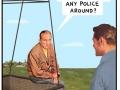 No cops, no stops