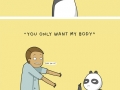 Excuses pandas give