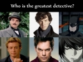 The greatest detective?