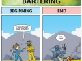 Fallout beginning vs end