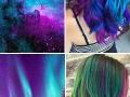 This galaxy hair trend