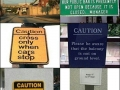'You don't say' signs