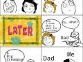 How to traumatize dad