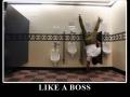 Like a boss!