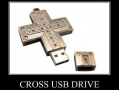 Cross USB Drive