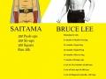 Saitama vs Bruce Lee