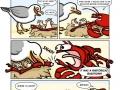 Seagull vs. Lobster