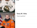 Astronauts describing space