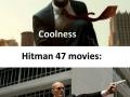 Hitman: game vs movie