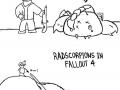 Radscorpions in Fallout