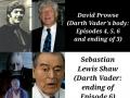 Darth Vaders & Anakins