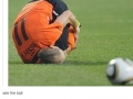 See the ball..