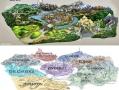 Middle earth theme park
