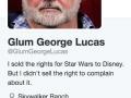 Glum George Lucas