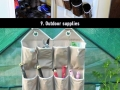 Using a shoe organizer