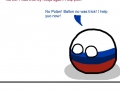 Russia tries to be friendly