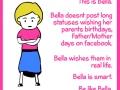 Be like Bella