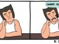 Bored Wolverine