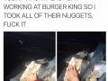 Sorry burger king