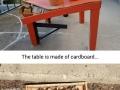 $10 Ikea lack table