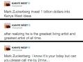 Kanye West is in debt