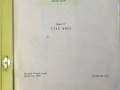 Early Star Wars script