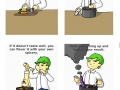 A cooking tutorial